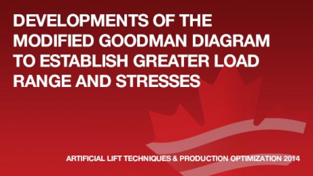 Developments Of The Modified Goodman Diagram To Establish